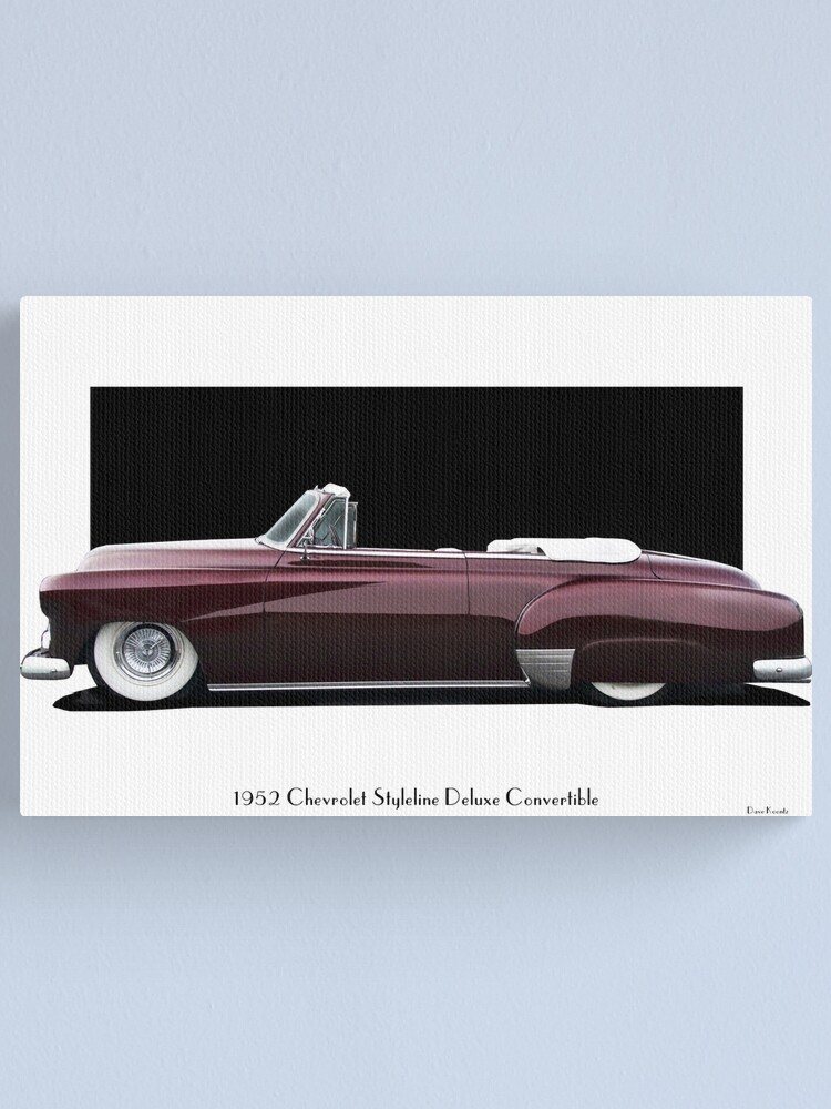 1952 Chevy styleline Deluxe hardtop convertible for sale: photos...
