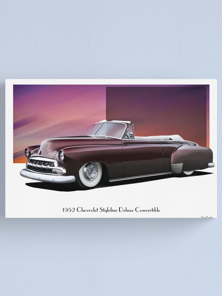 1952 Chevy Convertible : chevy, convertible, Chevrolet, Styleline, Deluxe, Convertible