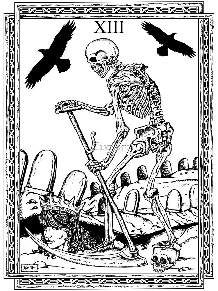 TAROT Death by ZugArt  Redbubble