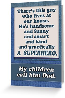 """Happy Father's Day Superhero Dad From Wife Mom"
