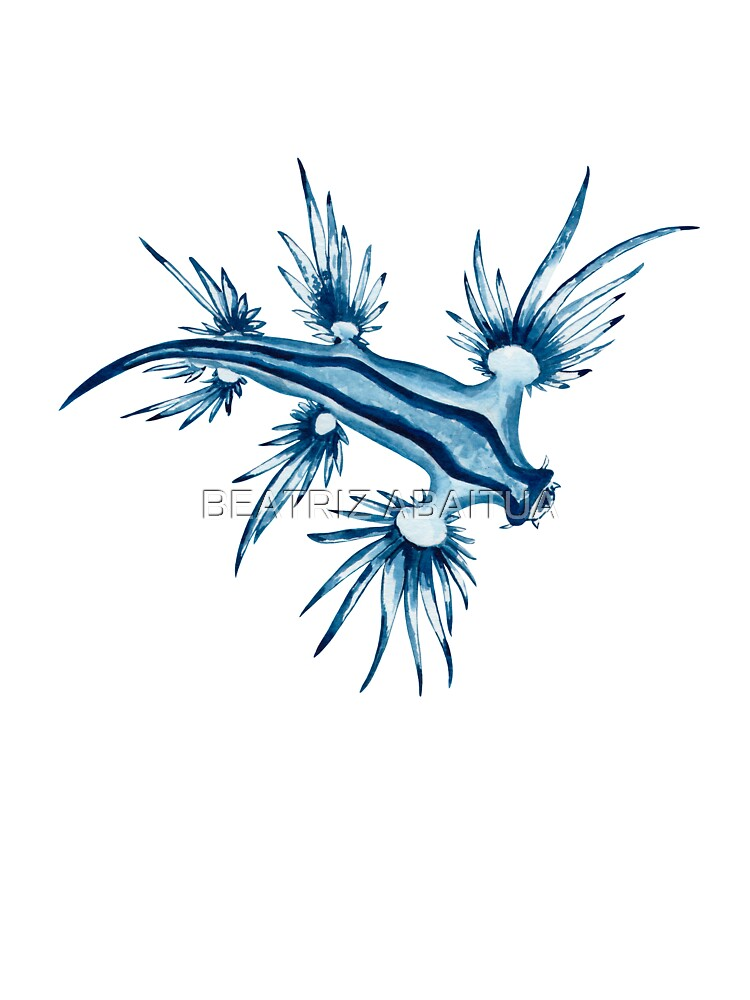 Dragon Bleu Des Mers : dragon, Bébé, DRAGON, BLEU-Glaucus, Atlanticus, Bananaflamingo, Redbubble