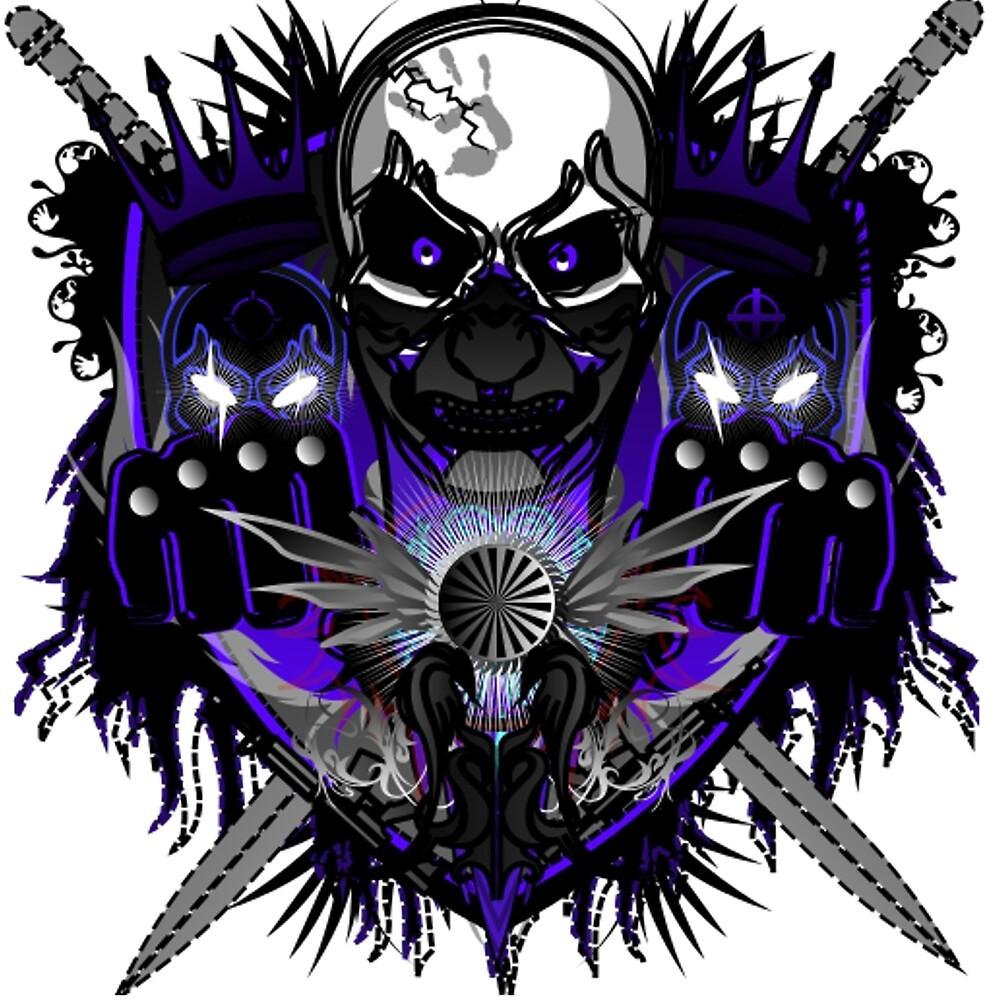 """cool Skulls"" By Dankflamemaster  Redbubble"