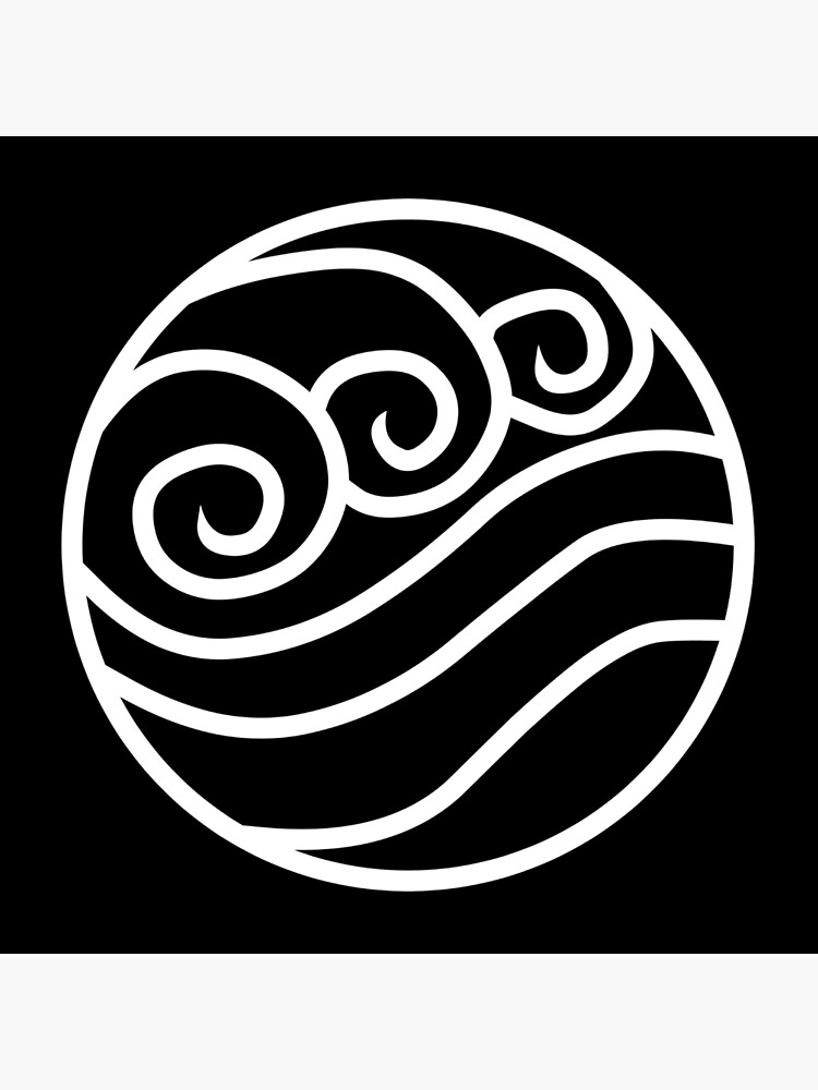 Airbender Logo : airbender, Avatar, Airbender, Water, Logo