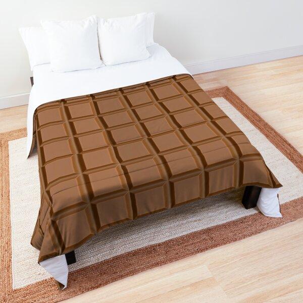 dark chocolate brown comforters redbubble