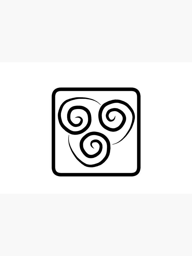 Airbender Logo : airbender, Avatar, Airbender, Logo