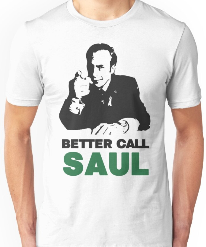 Better Call Saul Illustration T-Shirts
