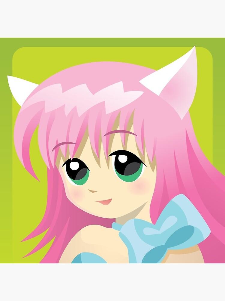 Anime Girl Xbox Gamerpic : anime, gamerpic, Anime, Profile, Postcard, Leto777, Redbubble