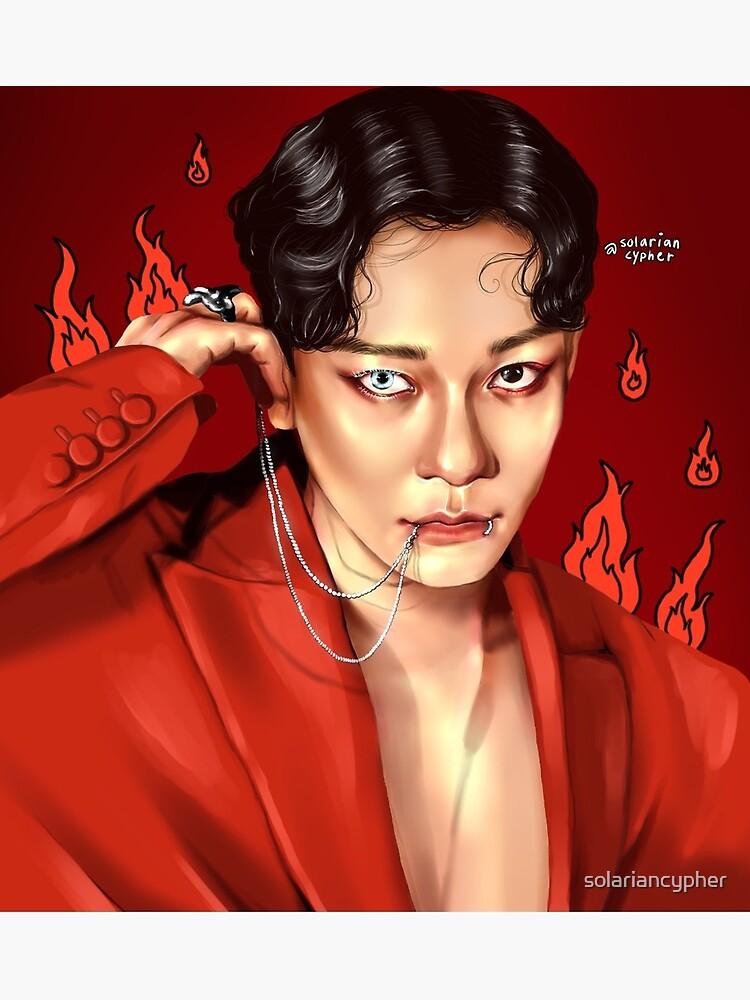 Exo Chen Obsession : obsession, X-EXO, Obsession, Cards