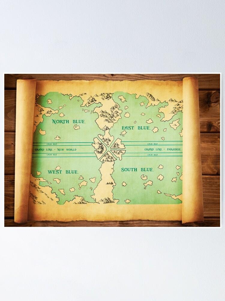 One Piece Grand Line Map : piece, grand, Piece, World