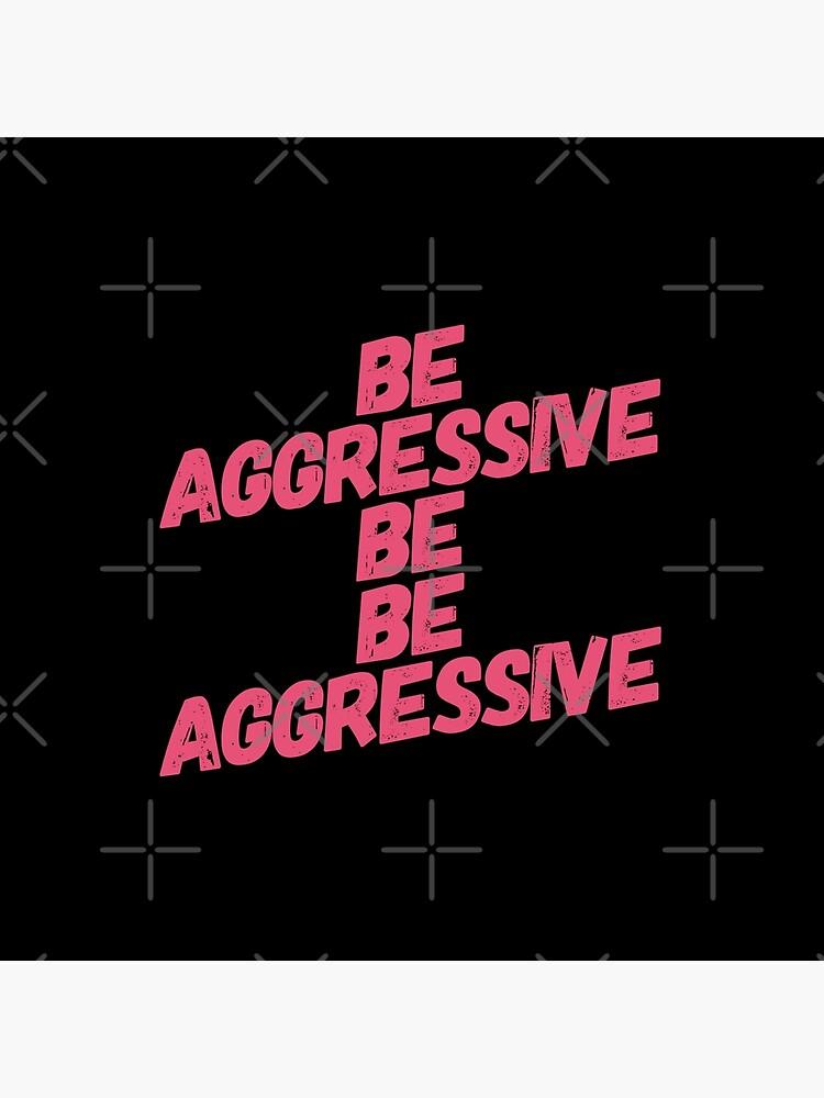 Be Aggressive Be Be Aggressive : aggressive, Cheer, Captain, Aggressive, Cheerleader, Birthday, Cheerleading