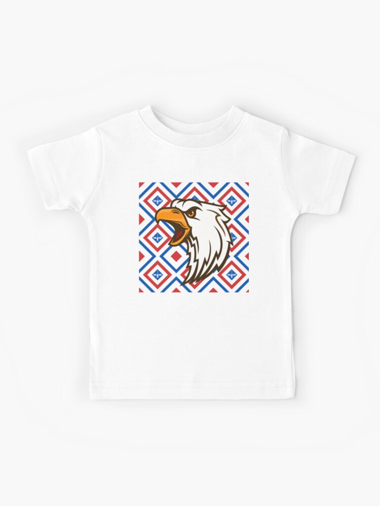 Screaming American Eagle Kids T Shirt By Samsdesignshop Redbubble