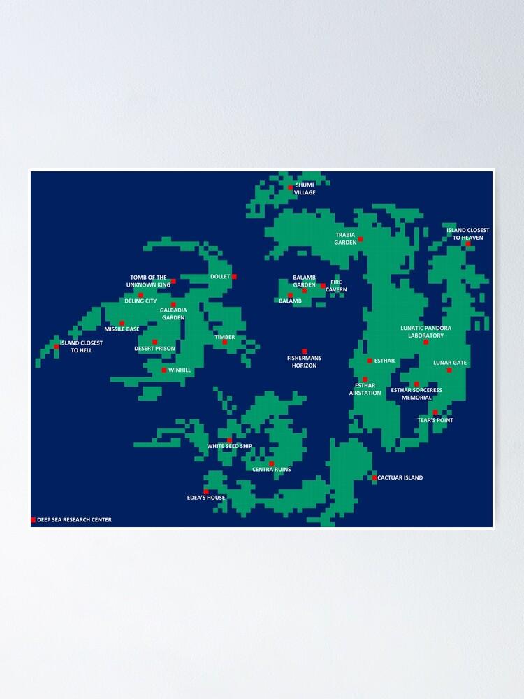 Final Fantasy 8 World Map | CivFanatics Forums