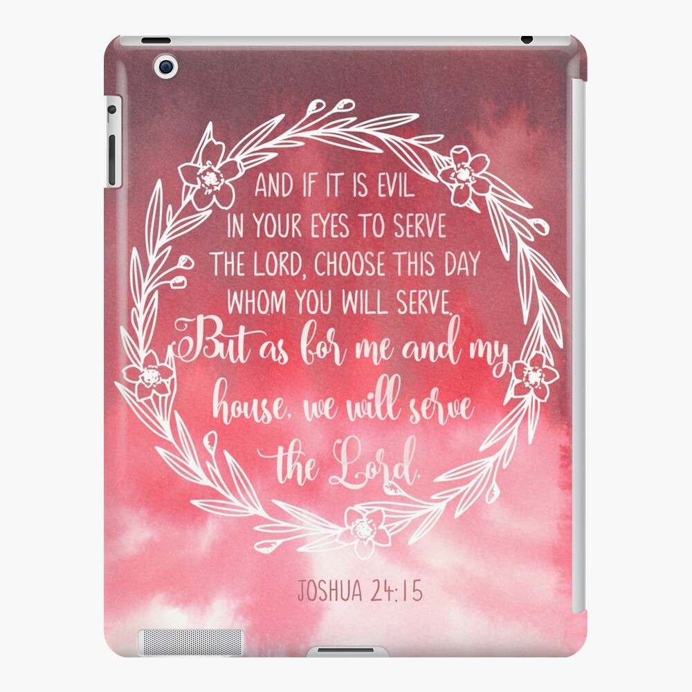 My Home 24 Joshua 24:15 But As For Me And My House, We Will Serve The Lord, Bible Verse Wall Art, Scripture Decor, Christian Home Decor\