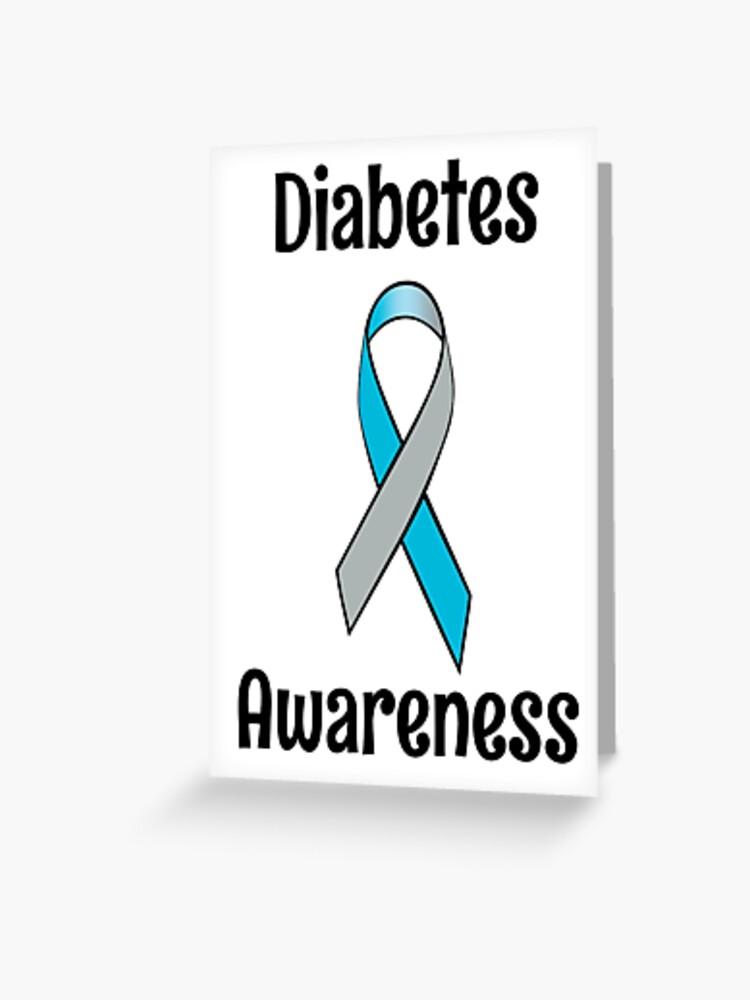 Diabetes Awareness Ribbon : diabetes, awareness, ribbon, Diabetes, Awareness, Ribbon