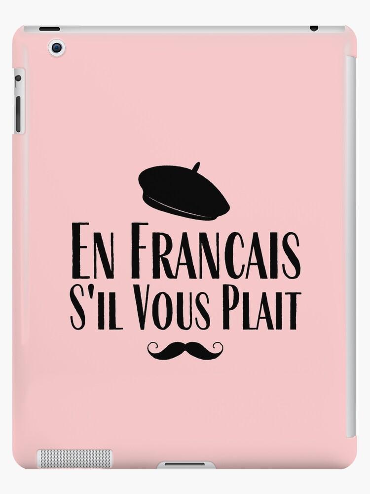 S'il-vous-plaît : s'il-vous-plaît, Francais, Plait, Retro, French, Language, Codeclothes, Redbubble