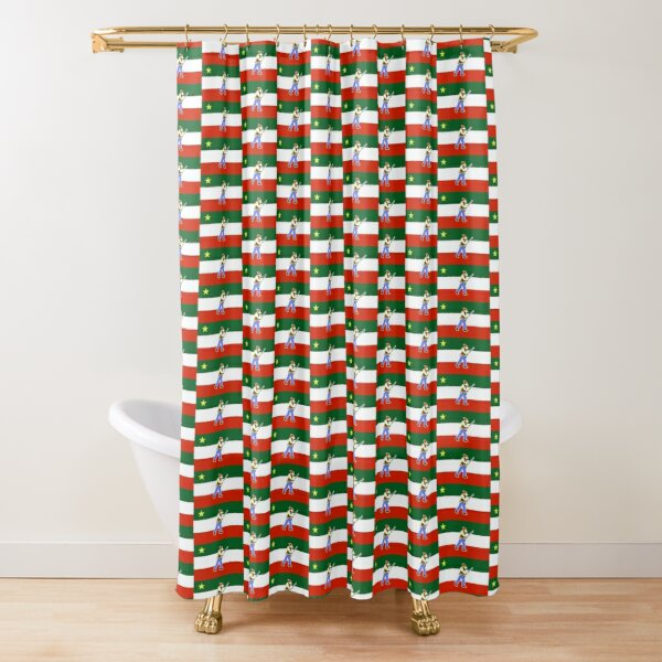 french patriots shower curtains redbubble