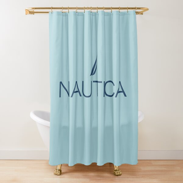 nautica nautica nautica nautica shower curtain by dresenia redbubble
