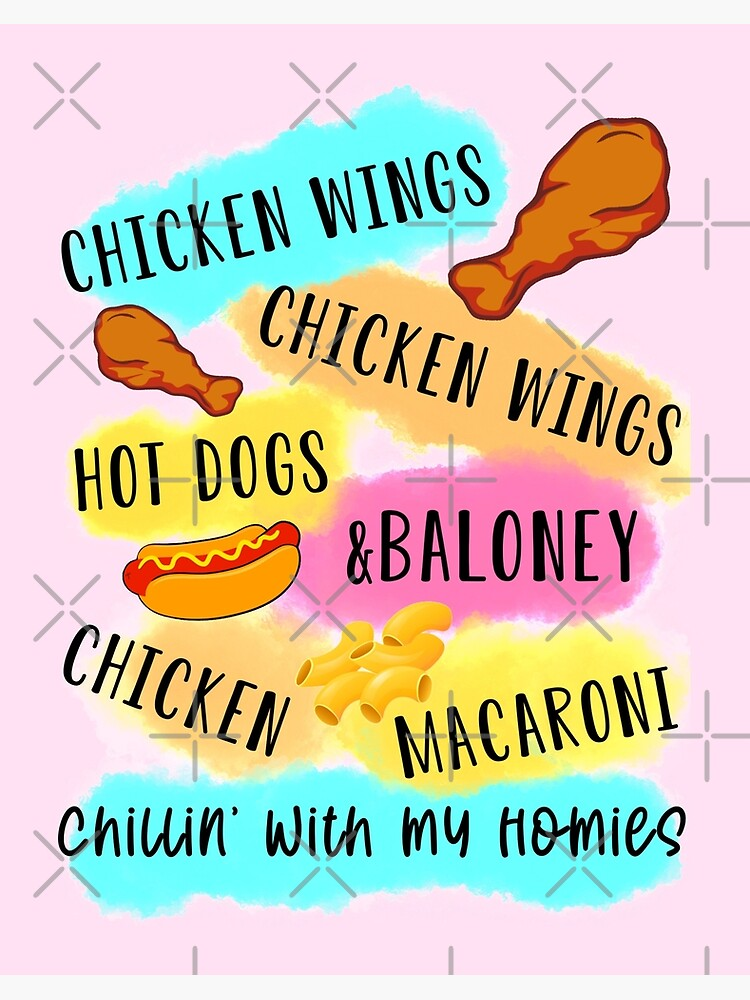 Chicken Wing Hot Dog And Baloney : chicken, baloney, Chicken, Wings, Baloney, Macaroni, Chillin, Homies, Funny, TikTok
