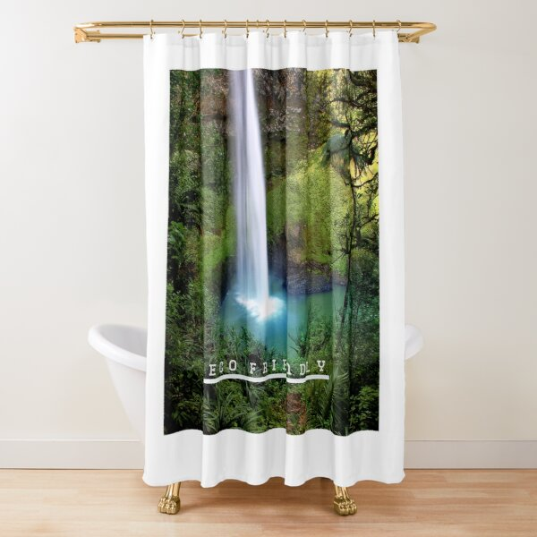 sustainable shower curtains redbubble