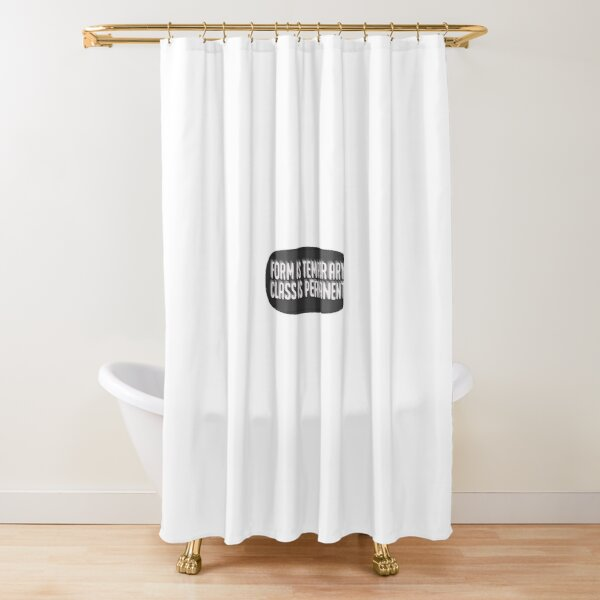 temporary shower curtains redbubble