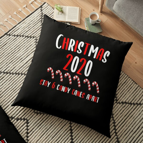 candy canes pillows cushions redbubble