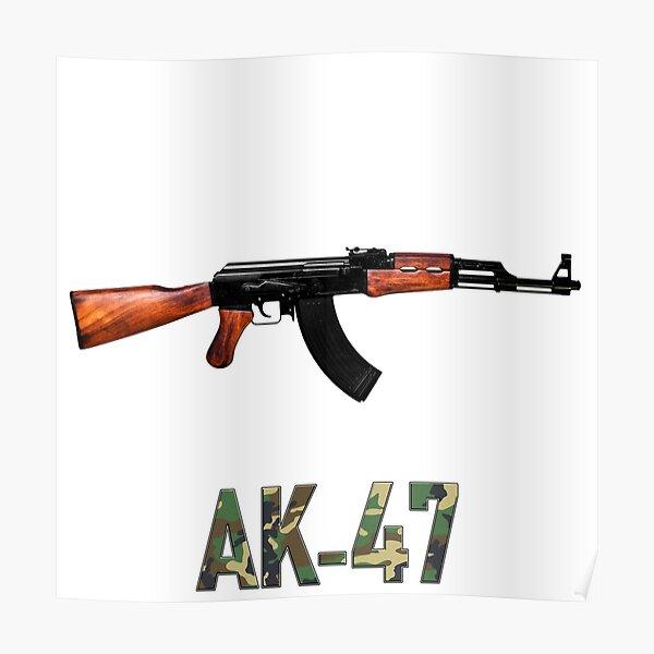 ak 47 posters redbubble