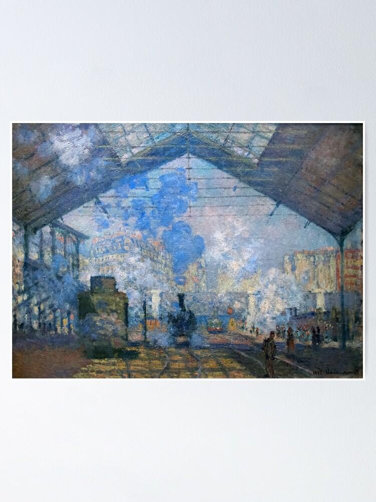 Claude Monet Gare Saint Lazare : claude, monet, saint, lazare, Claude, Monet,, Saint, Lazare, Paris, 1877