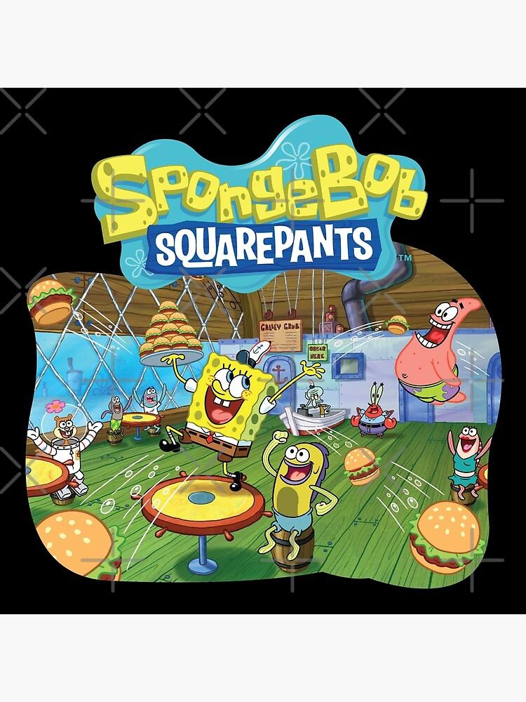 Spongebob Squarepants Burger Game : spongebob, squarepants, burger, Spongebob, Burger, Party