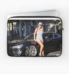 scion fr s and sexy girl laptop sleeve by topherblais13 redbubble [ 1181 x 999 Pixel ]