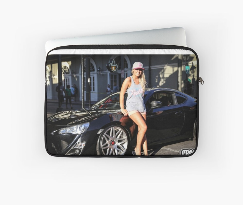 medium resolution of  scion fr s and sexy girl laptop sleeve by topherblais13 redbubble