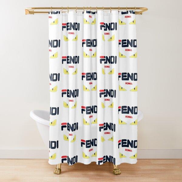 fendi eyes shower curtains redbubble