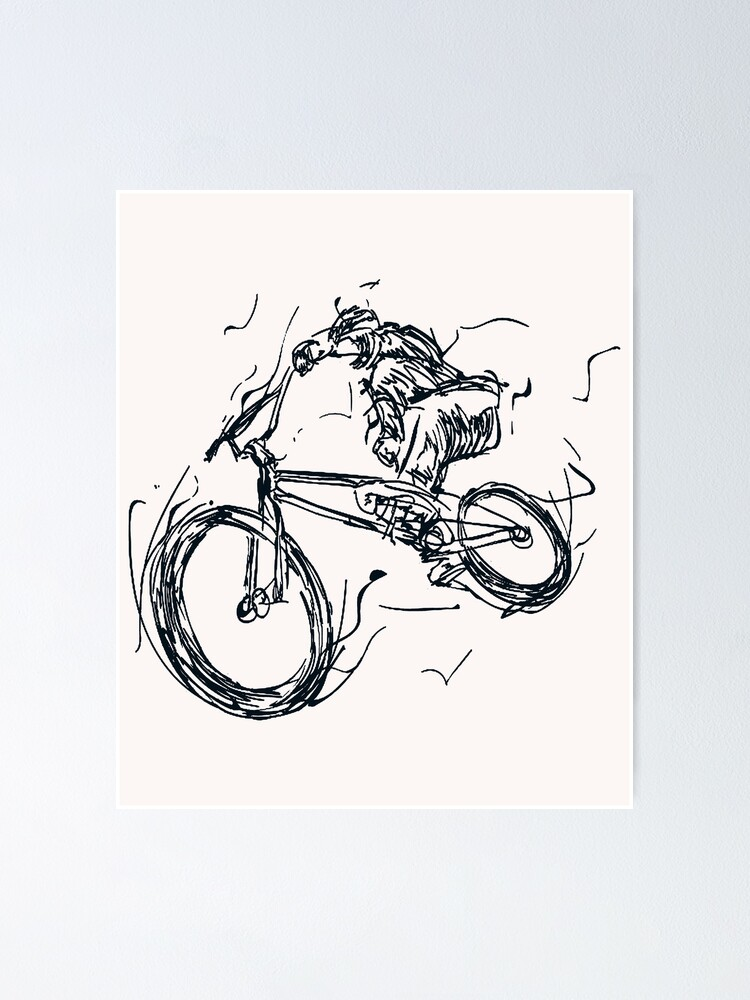 Aesthetic Simple Art : aesthetic, simple, Cyclist, Cycling, Style, Artistic, Minimalistic, Aesthetic, Simple, Lines