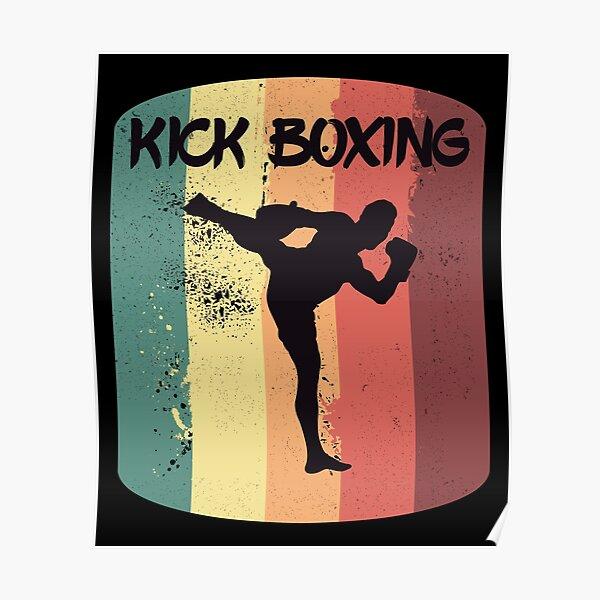 muay thai boxing martial arts full contact combat fight giant art poster kunstplakate autrement dit antiquitaten kunst