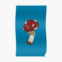 Minecraft Mushroom Posters Redbubble