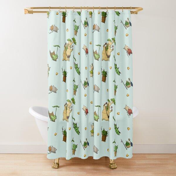 zelda shower curtains redbubble