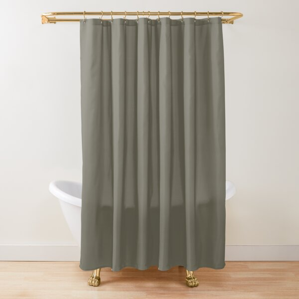 solid brown shower curtains redbubble