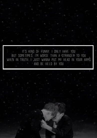 EXO  Sing For You Lyrics Poster by skiesofaurora  Redbubble
