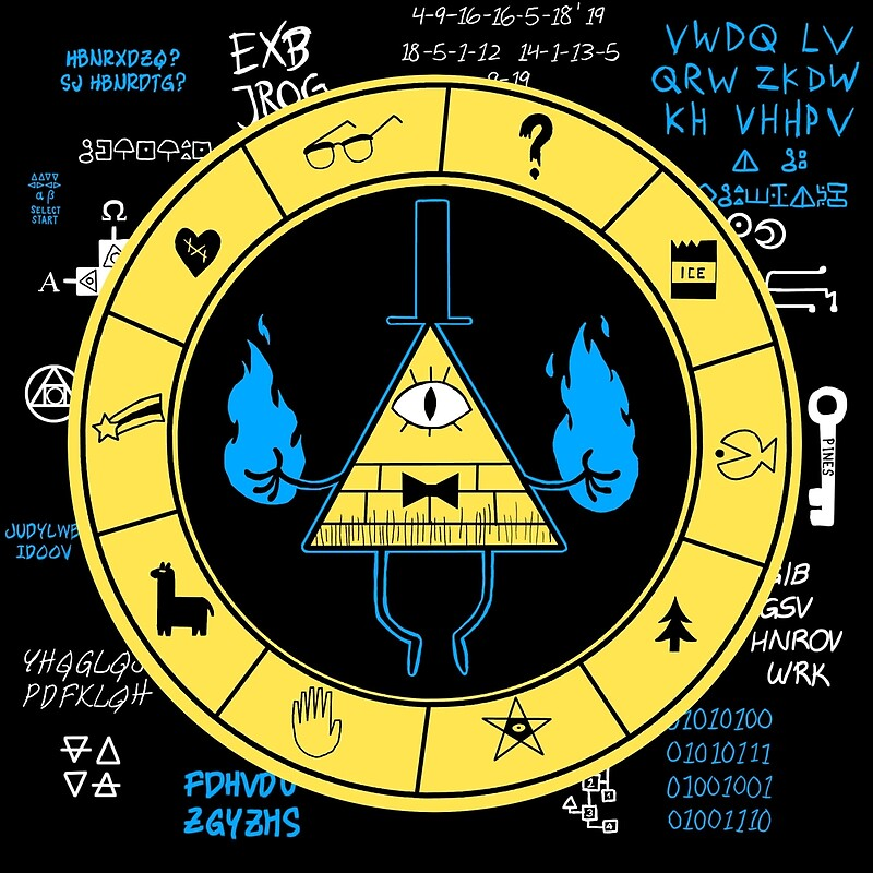 Gravity Falls Bill Cipher Wallpaper Iphone Gravity Falls Bill Cipher Metal Prints Redbubble