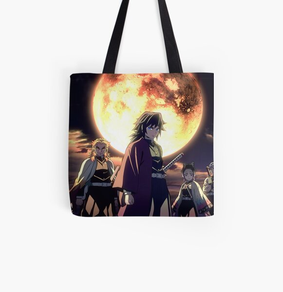 They are powerful warriors who aim to eradicate all demons in order to protect humanity. Hashira Tote Bags   Redbubble