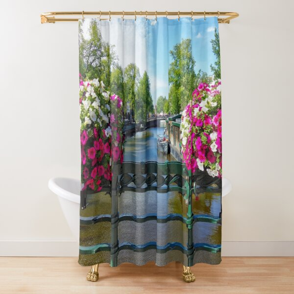 cityscape shower curtains redbubble