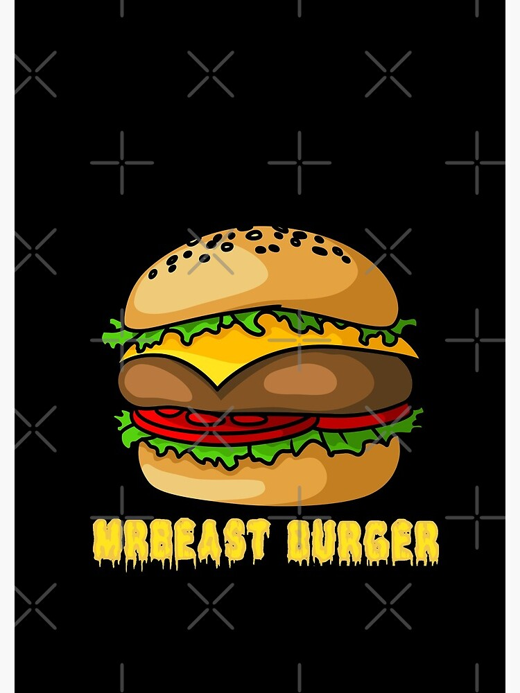 """mrbeast burger"" Spiral Notebook by GulQari 