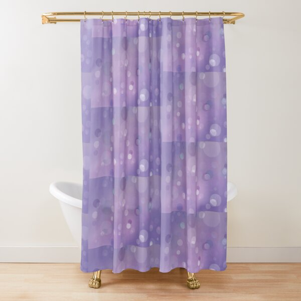 pastel lilac shower curtains redbubble