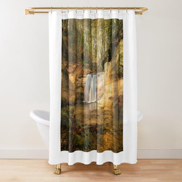 cascade shower curtains redbubble