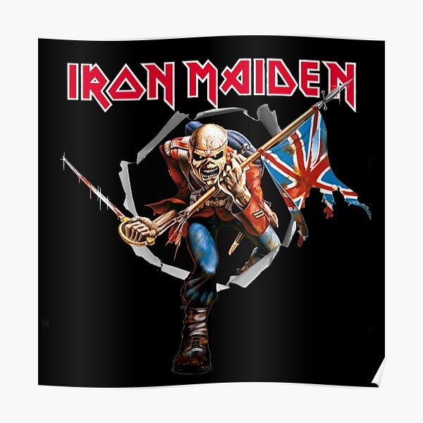 poster iron maiden redbubble