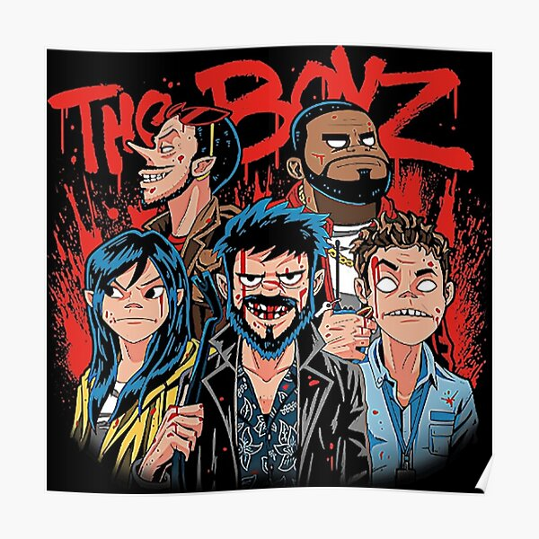 All payment processed by paypal as a payment gateway service. Gorillaz Posters Redbubble
