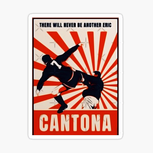 Cantona has spoken about that controversial moment 26 years ago. Cantona Kick Stickers Redbubble