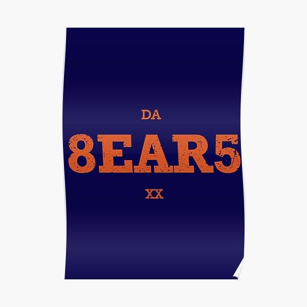 da bears posters redbubble