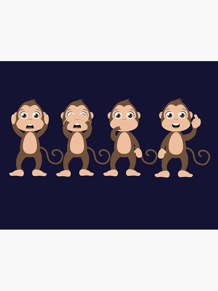 4 Monkeys Images : monkeys, images, Monkeys