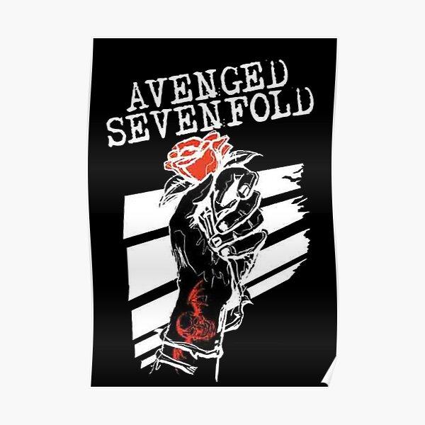 poster avenged sevenfold redbubble