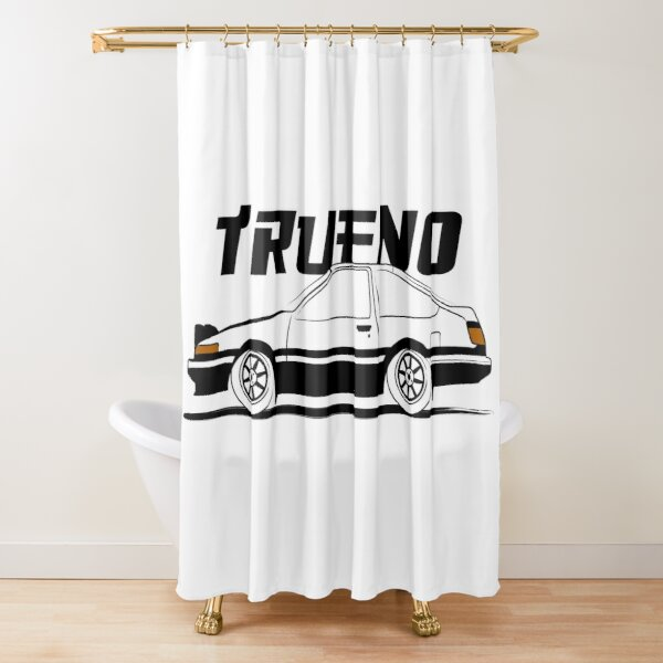 ae86 shower curtains redbubble